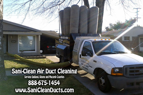 Sani Clean Air Duct Cleaning Spring Flat Rate Specials